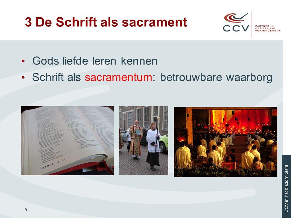 3 De Schrift als sacrament