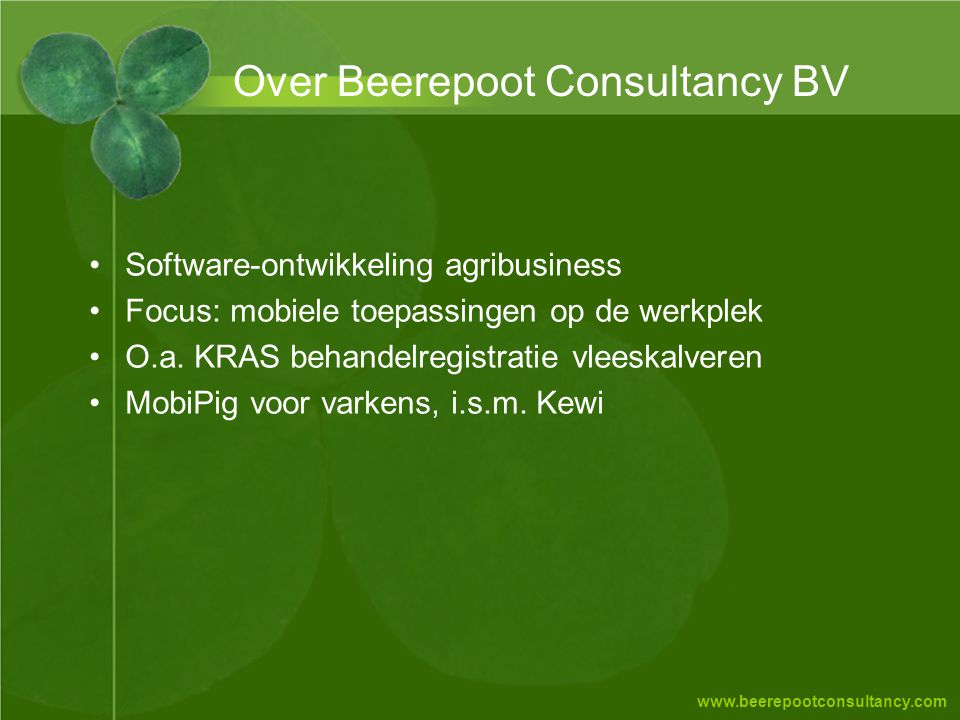 Over Beerepoot Consultancy BV