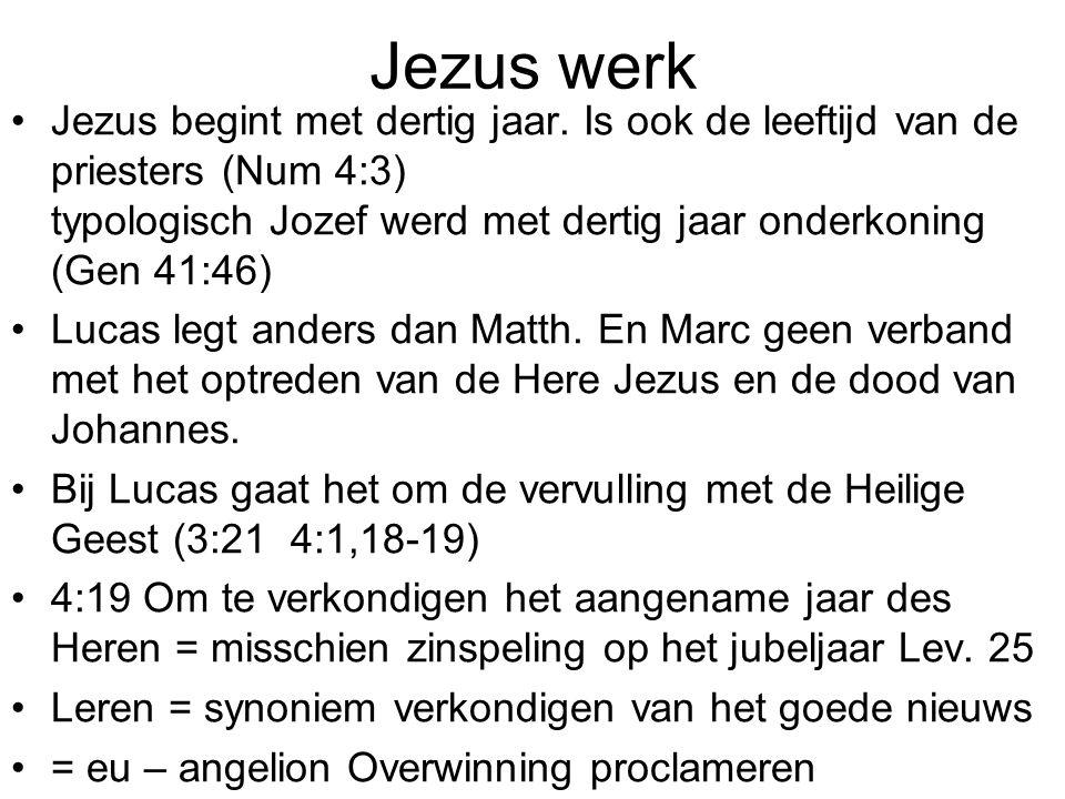 Jezus werk