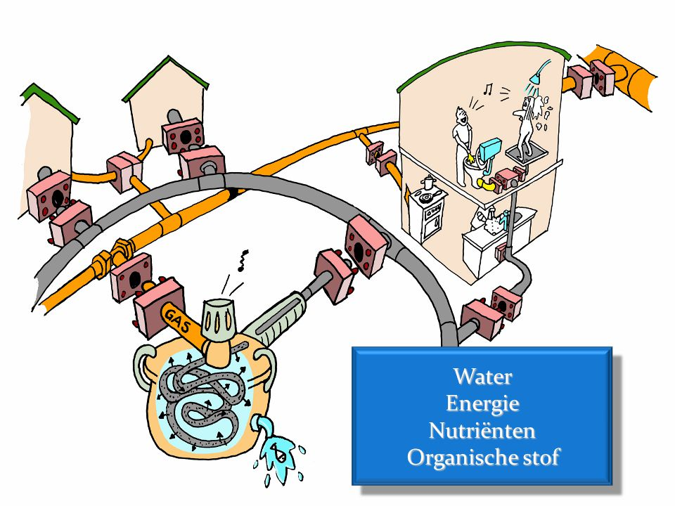 Water Energie Nutriënten Organische stof