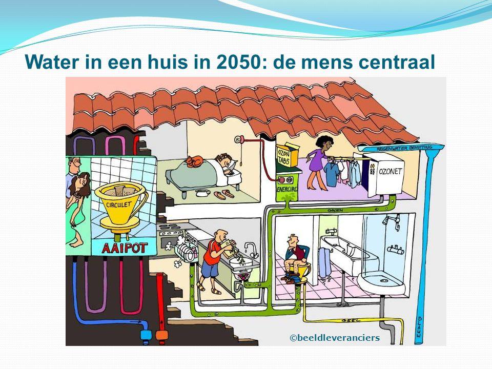 Water in een huis in 2050: de mens centraal