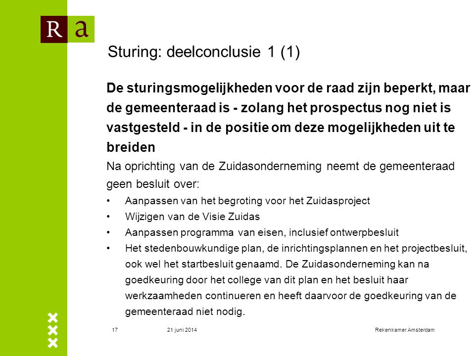 Sturing: deelconclusie 1 (1)