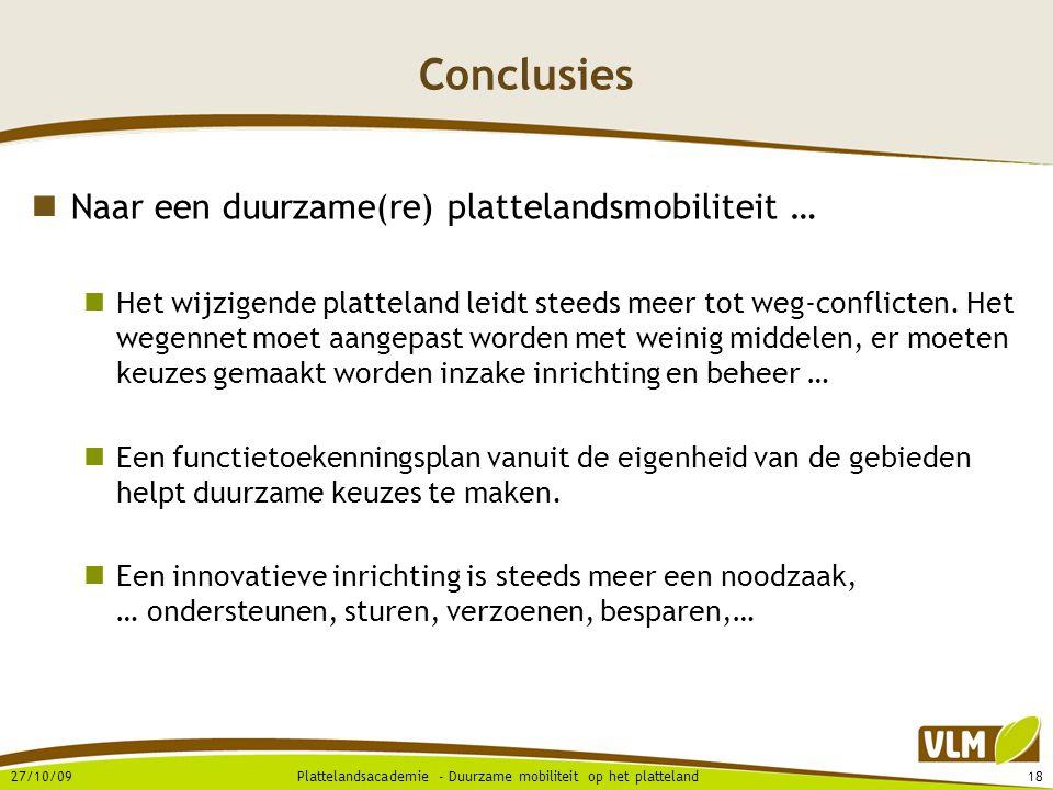 Conclusies Naar een duurzame(re) plattelandsmobiliteit …