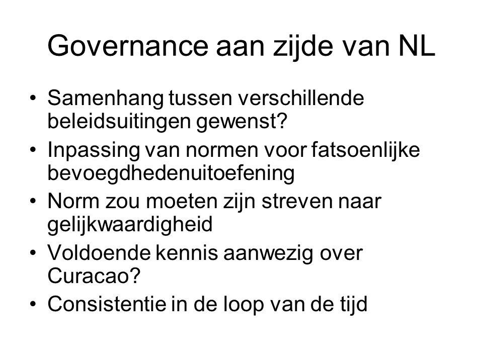 Governance aan zijde van NL