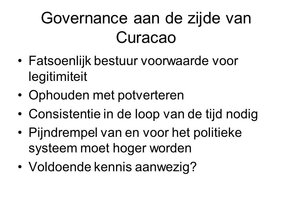 Governance aan de zijde van Curacao