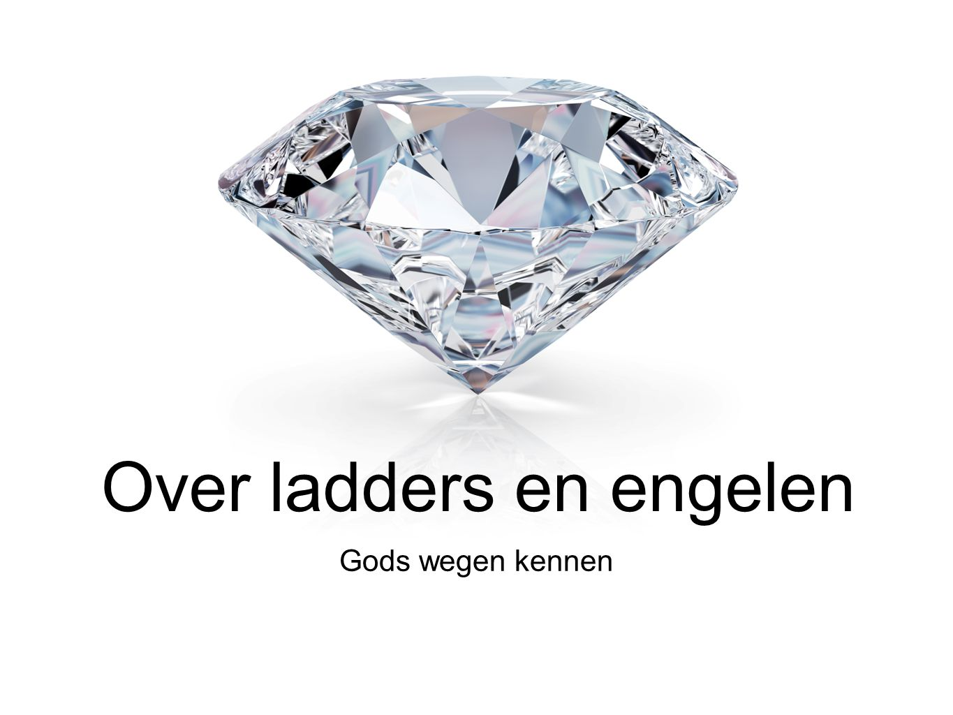 Over ladders en engelen