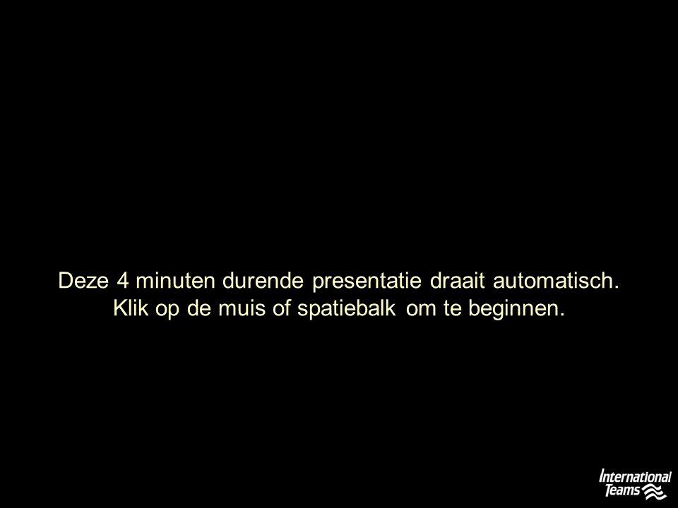 Deze 4 minuten durende presentatie draait automatisch.