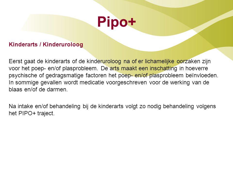 Pipo+ Kinderarts / Kinderuroloog