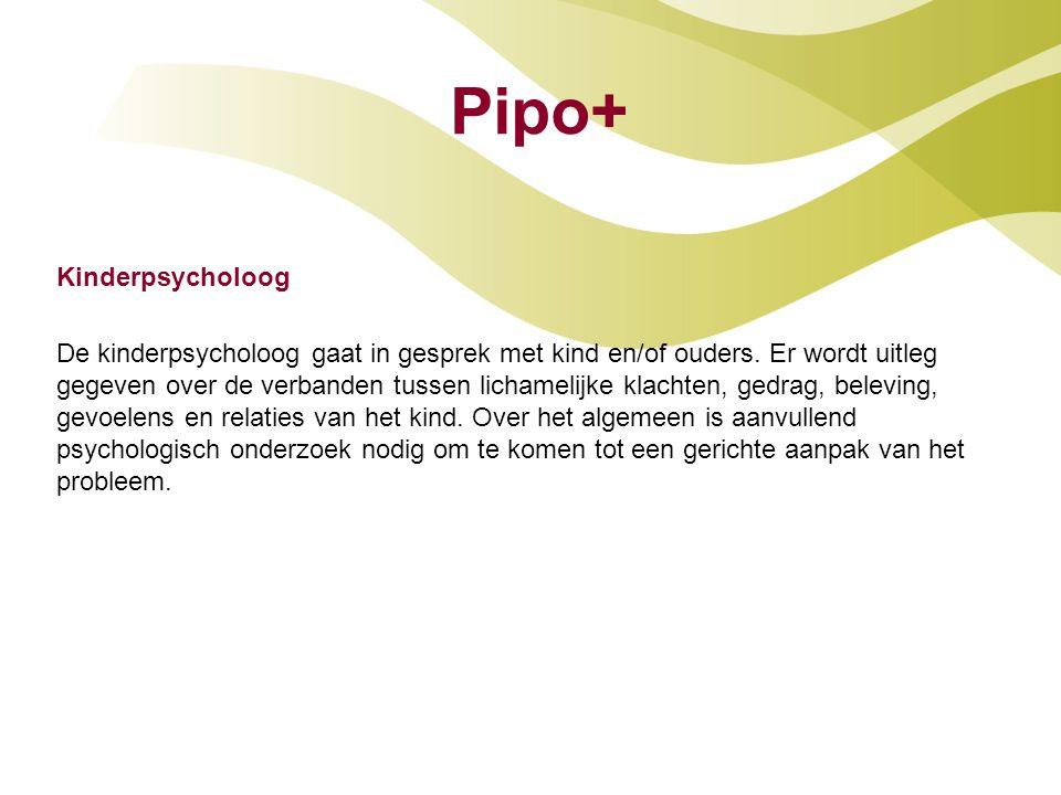 Pipo+ Kinderpsycholoog