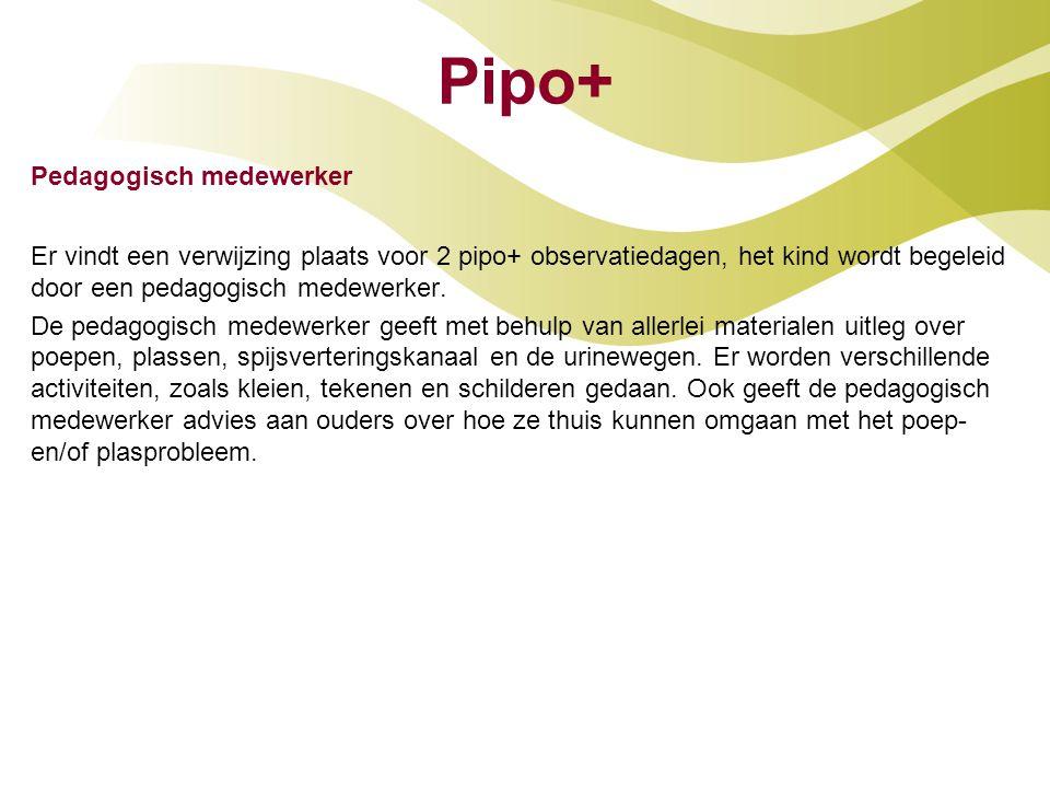 Pipo+ Pedagogisch medewerker