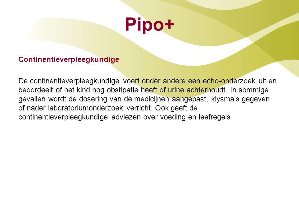 Pipo+ Continentieverpleegkundige