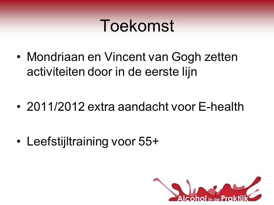 Toekomst Mondriaan en Vincent van Gogh zetten activiteiten door in de eerste lijn. 2011/2012 extra aandacht voor E-health.
