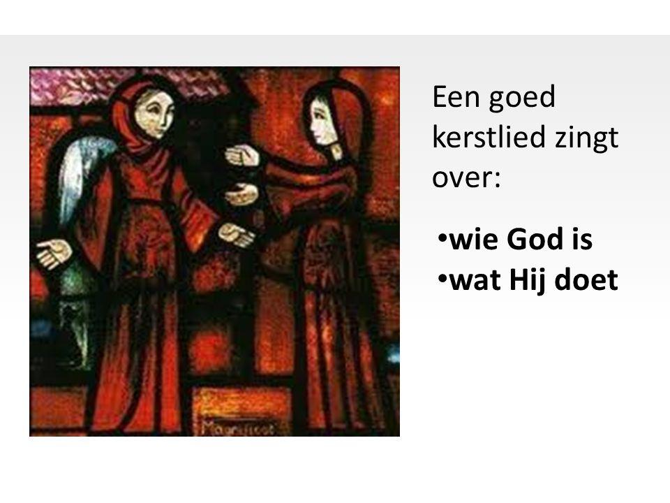 Een goed kerstlied zingt over: