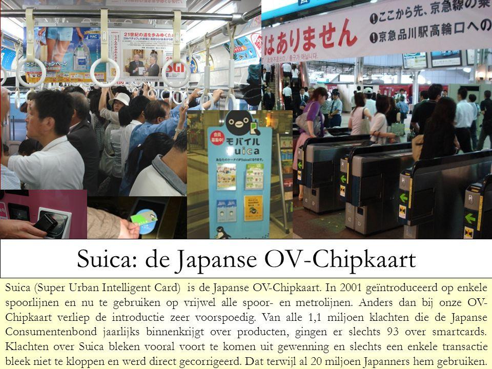 Suica: de Japanse OV-Chipkaart