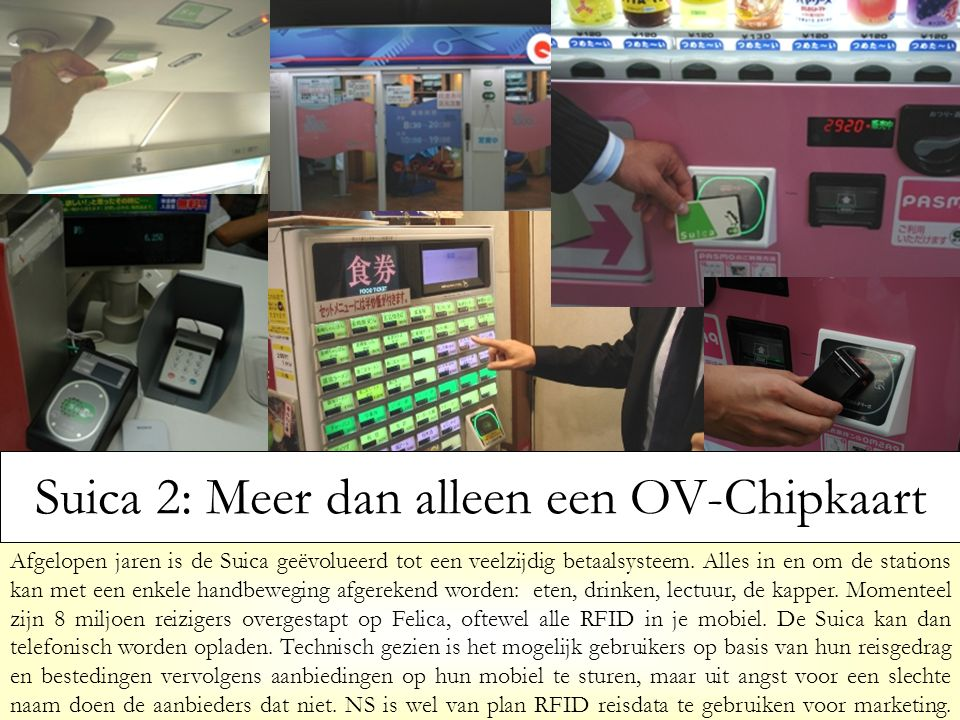 Suica 2: Meer dan alleen een OV-Chipkaart