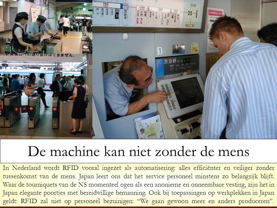 De machine kan niet zonder de mens