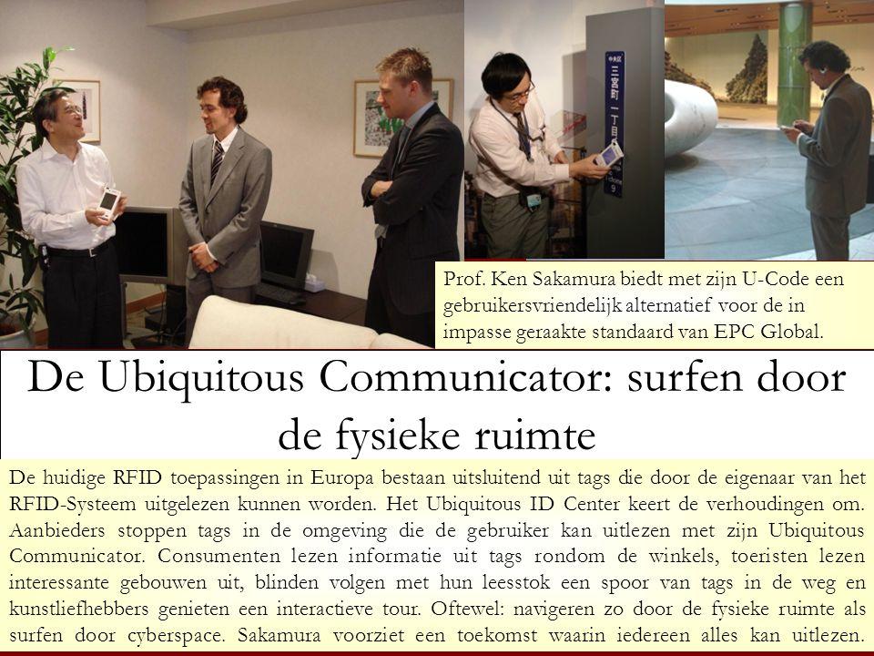 De Ubiquitous Communicator: surfen door de fysieke ruimte