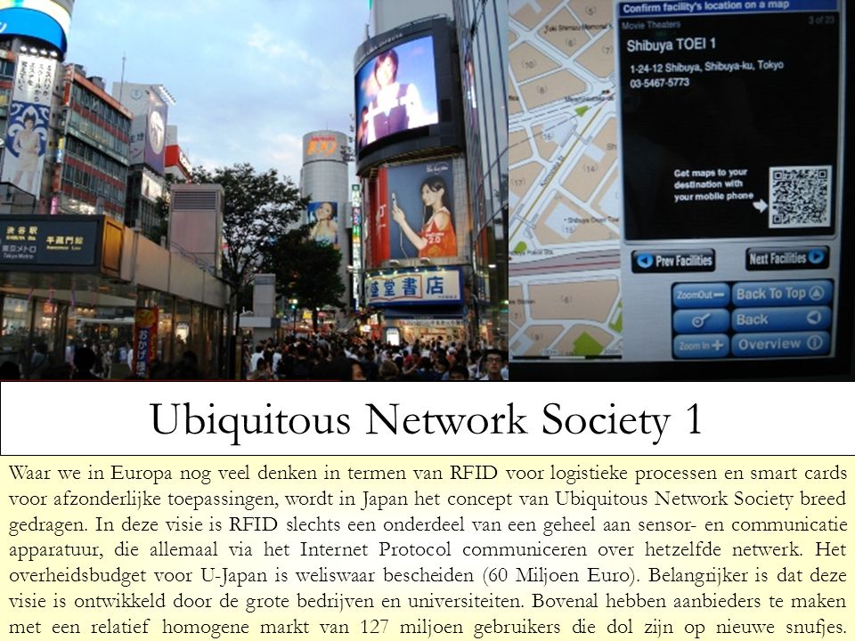 Ubiquitous Network Society 1