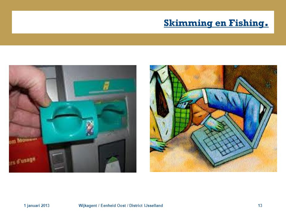 Skimming en Fishing. 1 januari 2013