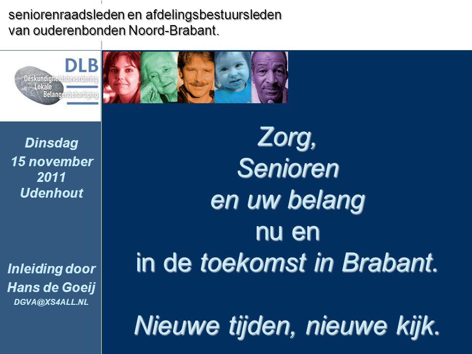 PRVMZ - Provinciale Raad voor de Volksgezondheid en Maatschappelijke Zorg in Noord-Brabant