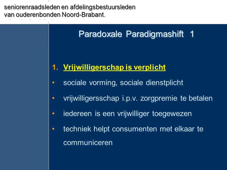 Paradoxale Paradigmashift 1