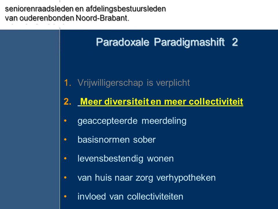 Paradoxale Paradigmashift 2