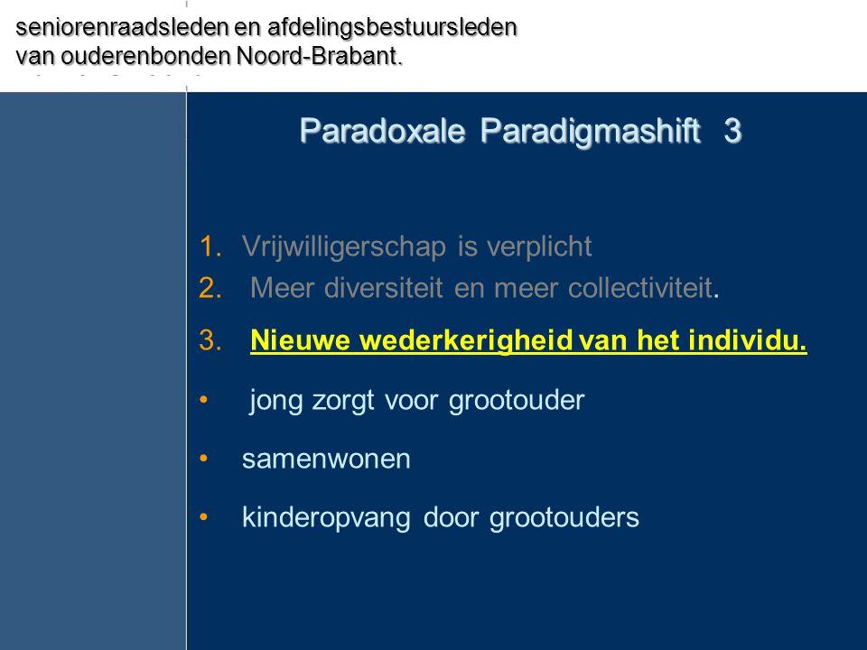 Paradoxale Paradigmashift 3