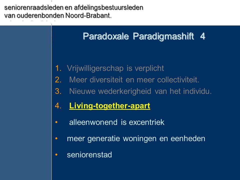 Paradoxale Paradigmashift 4