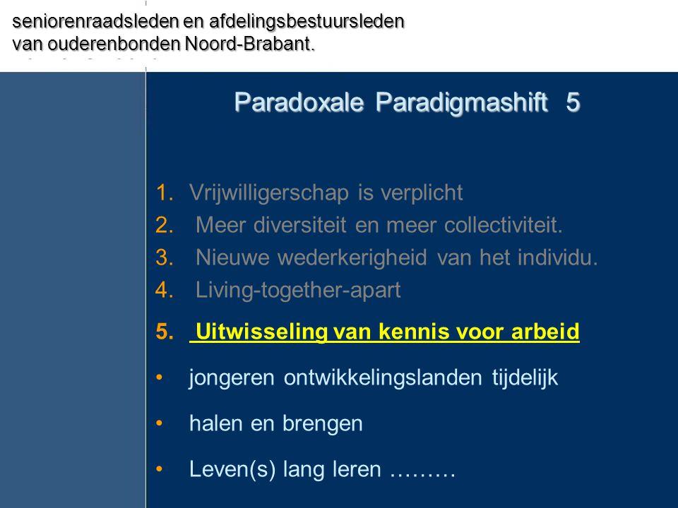 Paradoxale Paradigmashift 5