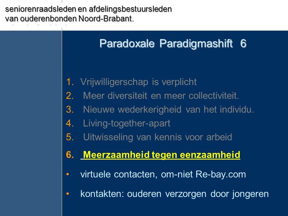 Paradoxale Paradigmashift 6