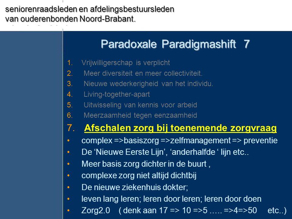 Paradoxale Paradigmashift 7