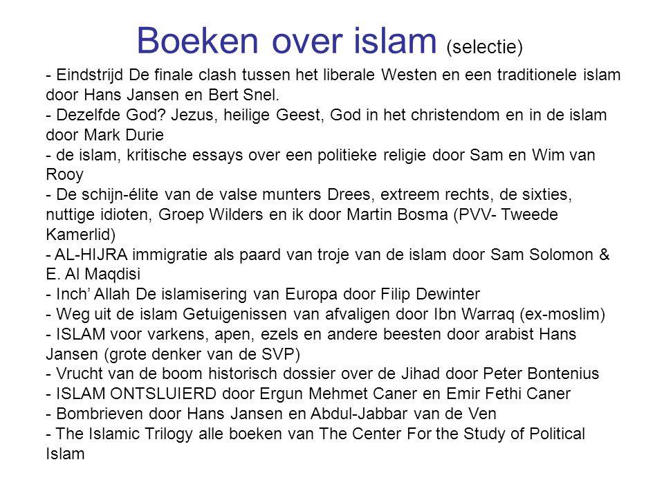 Boeken over islam (selectie)