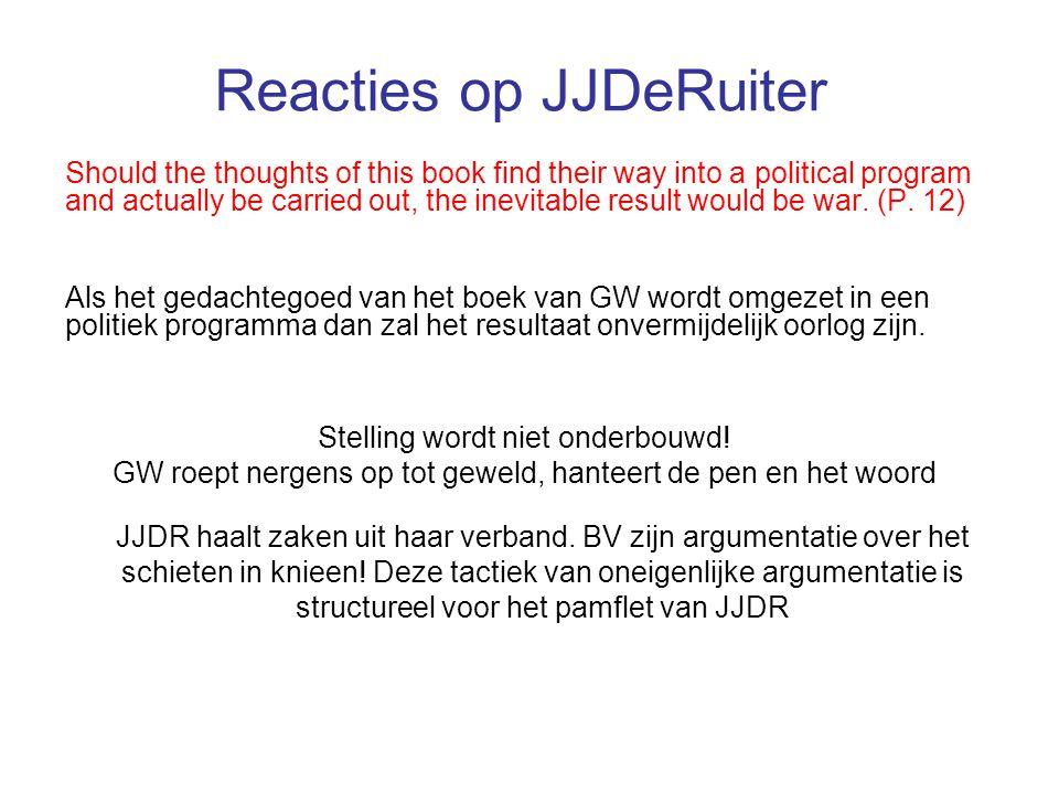 Reacties op JJDeRuiter