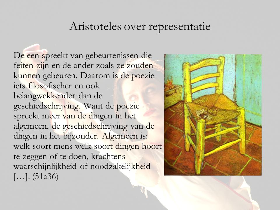 Aristoteles over representatie