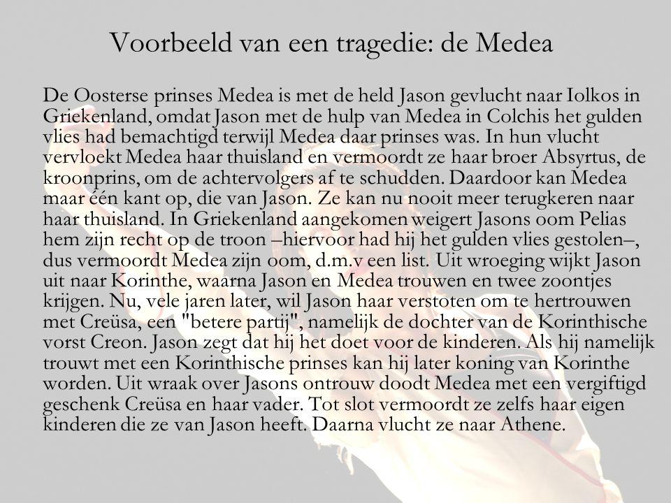 Voorbeeld van een tragedie: de Medea