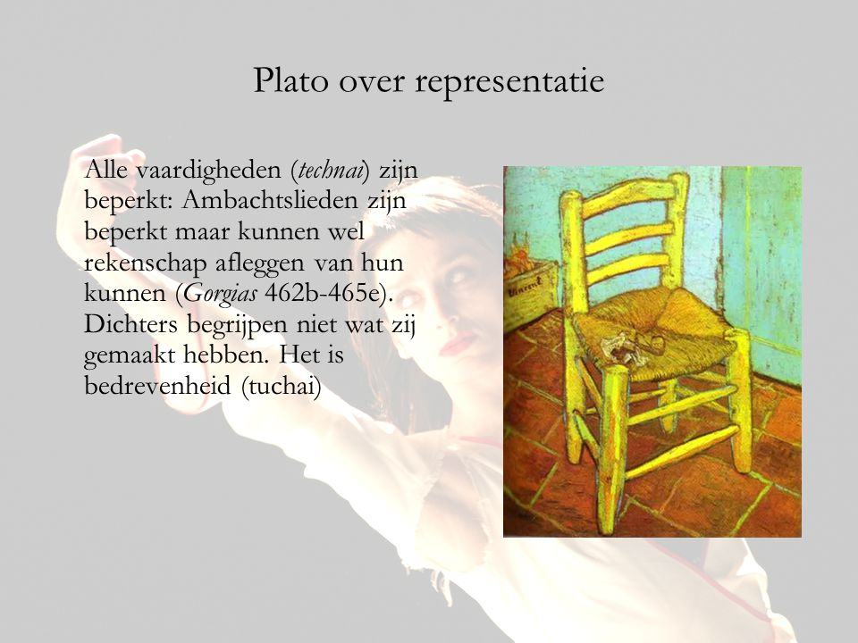 Plato over representatie
