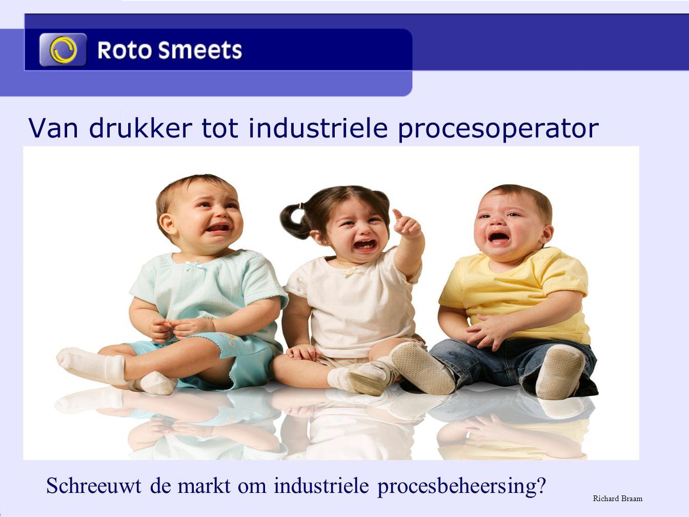 Van drukker tot industriele procesoperator