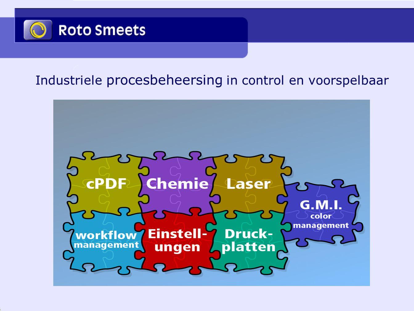Industriele procesbeheersing in control en voorspelbaar