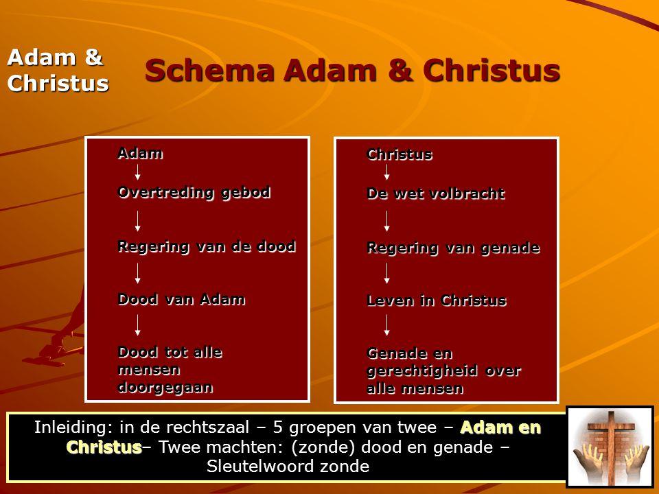 Schema Adam & Christus Adam & Christus Overtreding gebod