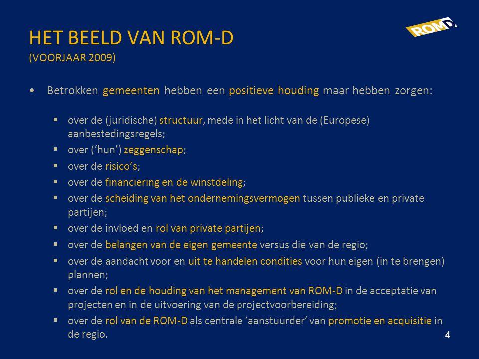 HET BEELD VAN ROM-D (VOORJAAR 2009)