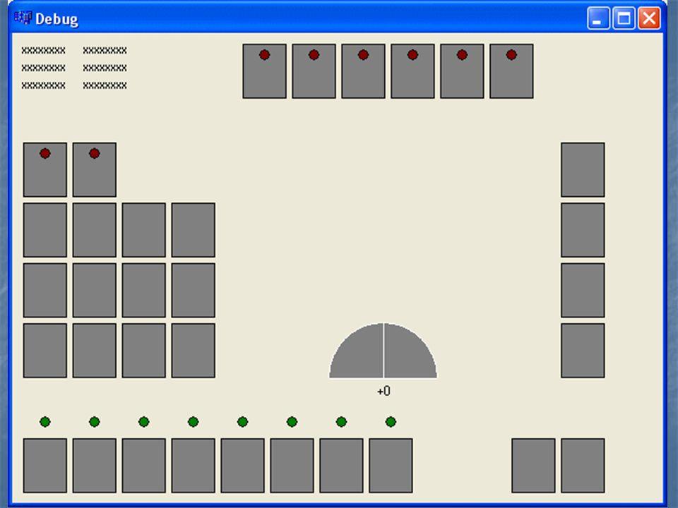 Plaatje I2C paneel testprogramma.