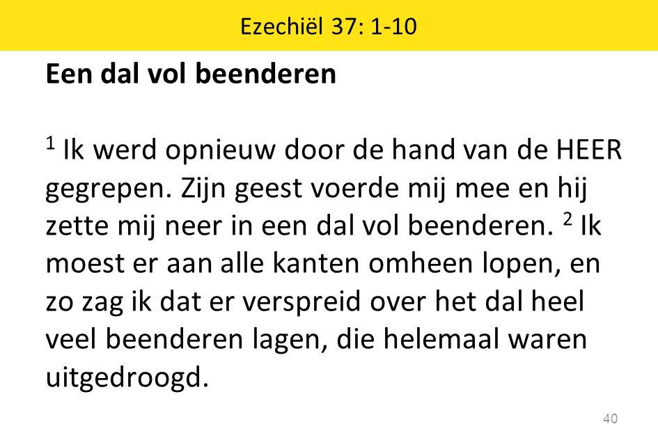 Ezechiël 37: 1-10