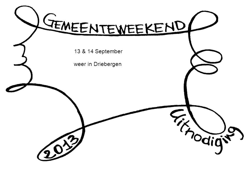 13 & 14 September weer in Driebergen