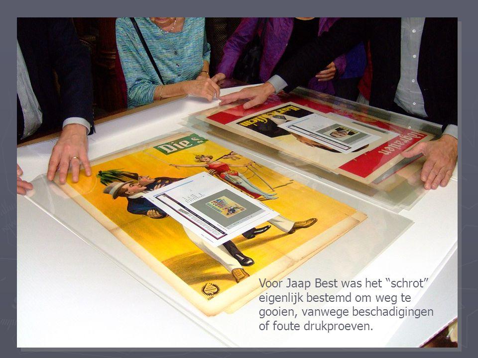 Voor Jaap Best was het schrot eigenlijk bestemd om weg te gooien, vanwege beschadigingen of foute drukproeven.