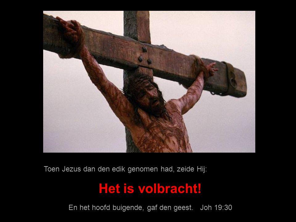 En het hoofd buigende, gaf den geest. Joh 19:30