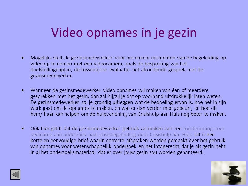 Video opnames in je gezin