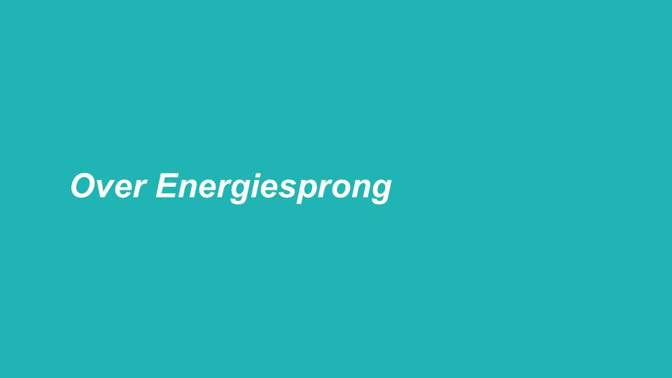 Over Energiesprong