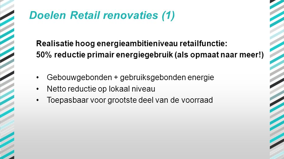 Doelen Retail renovaties (1)