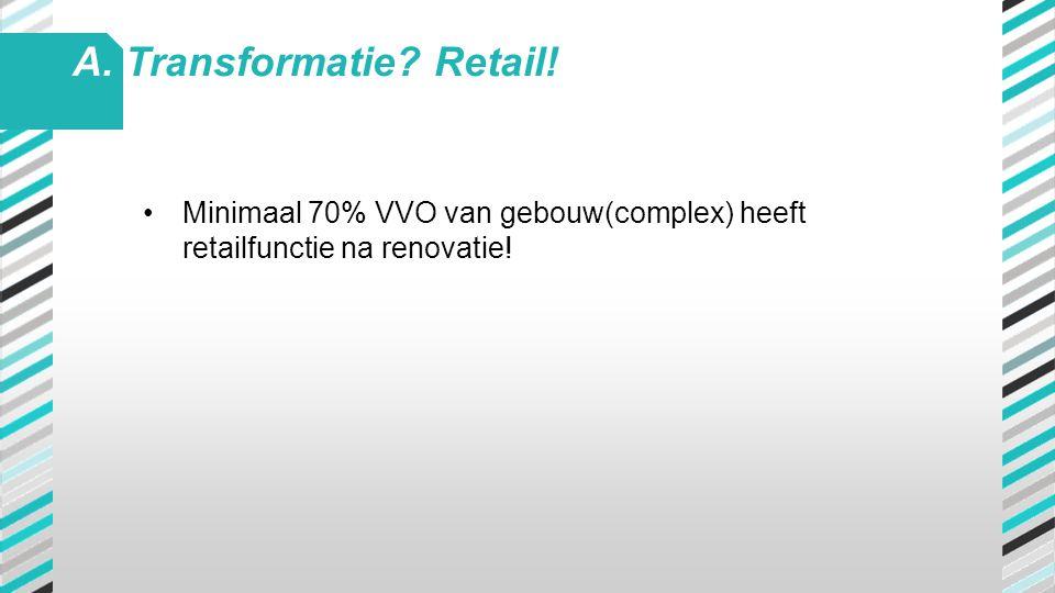 A. Transformatie Retail!