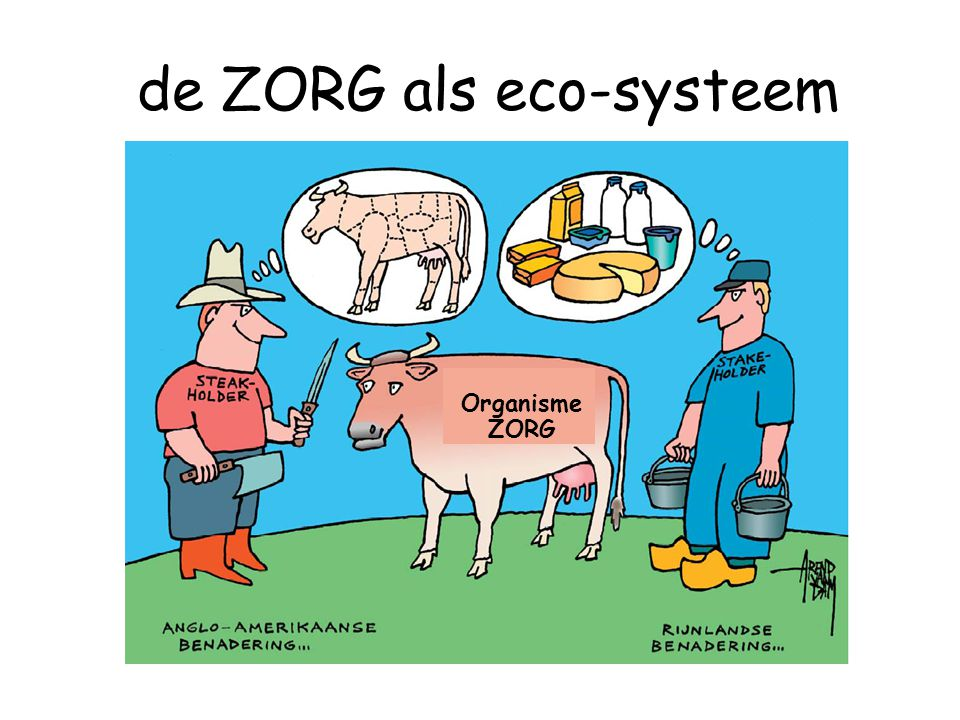 de ZORG als eco-systeem